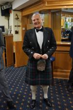 Burns Night at Pinner Hill Golf Club - Tom - the star of the evening
