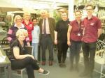 Stroke Awareness Day at Squires Garden Centre - Stroke Awareness Day 2017