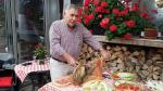 Italian themed garden party -