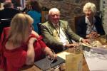 Millom Club Charter Dinner 2017 - Arthur - 92 and still surrounded by women