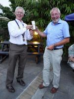 Club Handover - Given that Lostwithiel made up the rules, there was no real danger that Wadebridge might win the cup!