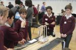 Technology Tournament led by Twickenham Rotary Club  - Students testing their construction so far