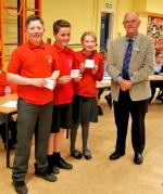 Junior Schools Quiz 2019 - Runners up St Mary's