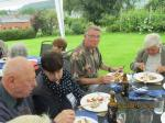Visit from Odal Rotary Club, Norway - 22 And Stewart managed some food