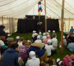 Jun 2013 Kids Out Day at Wimpole Hall and Farm - 16 Enjoying the puppet show