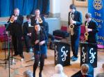 CHIPPY JAZZ AND MUSIC 2012 - The female lead gave a great balance to the band...