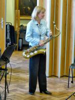CHIPPY JAZZ AND MUSIC 2013 - from saxophonist Sue Greenway's impov workshop