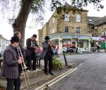 CHIPPY JAZZ AND MUSIC 2012 - ...and provided great entertainment to all the passers-by...