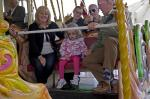 Marple Children Day at the Seaside - On The Carousel