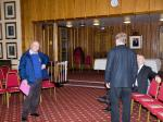 90 Years of Rotary in Kirkcaldy - JVP Jack arrives to help set up