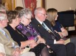 90 Years of Rotary in Kirkcaldy - DG Iain and Winnie listen to the musicians