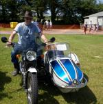 Wheels 2013 - Report and Slide Show - A Triumph Thunderbird