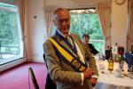 Ross Rotary Club Handover Dinner - A smart Sergeant at Arms