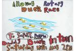 Alloway Primary School Duck Race Posters - Alloway Primary School P2 Duck Race Poster 3