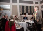 Supper Meeting with a Thame hero - Arthur Staggs at Thame Rotary