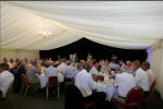 The Networking Boys win the Rotary Club of Rayleigh Mill's 8th Annual Charity Golf Tournament - An after match dinner was held in the marquee.