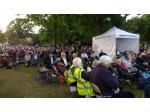 Music in the Gardens (Sheffield Botanical Gardens - Audience enjoying Night at the Movies at MITG 2017 resize