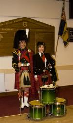 2013 Presentation to Banchory Pipe Band - BL 19 (Large)