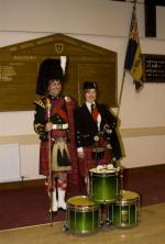 2013 Presentation to Banchory Pipe Band - BL 20 (Large)