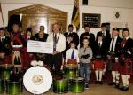 2013 Presentation to Banchory Pipe Band - BL 8 (Large)