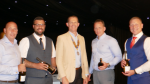 The Networking Boys win the Rotary Club of Rayleigh Mill's 8th Annual Charity Golf Tournament - The Fore Bearers were the winners of the Best Dressed team prize.