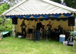 Blues at Burstead - June 2012 - Grapevine Blues Band start Playing