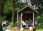 Blues at Burstead - June 2012 - The Summer House on wheels