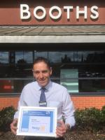 Lytham Rotary celebrates - Booth's Lytham Manager Simon Pickering