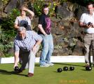 Rufford Park welcomes careful bowlers - Follow my lead....honestly!