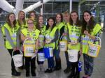 Children in Need Collection Heathrow 13th Nov 2015 - Interact at Terminal 5