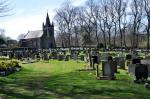 Afternoon Tea Walk for End Polio Now - Well tended Liversedge Cemetry(1)