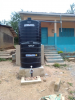 International Projects - This is a picture of the completed Safe Water project.
