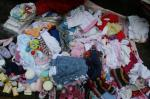 Sandra's Baby Clothes Project - Collected following an article in the Monmouth Beacon