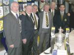 Community Service Awards - The Currie RFC Team, the Trophy & the Community Service Award
