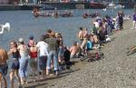 Annual Dragon Boat Festival - Support from the sidelines