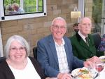 Rotary Club of Bingley Safari Supper - Linda watt, Guest & Douglas Rawson