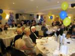 BLACKPOOL SOUTH ROTARY CLUB 2013  CHARTER DINNER.  - DG Kevin addresses members and guests.