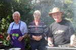 Summer Barbecue 2012 - Ron McGill with Lindsay & Norma Stewart