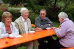 Summer Barbecue 2012 - David & Myra Muncey with Alan and Janet Suttie