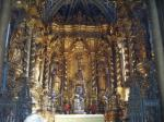 Some of the Gold leaf in Cathedral Se in the centre of Funchal.