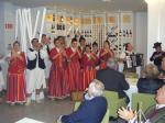 The wonderful folklore group from nearby Gaulo