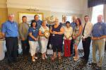 Photo Album - July/August 2014 - The winners of the Fleetwood Scarecrow Festival competitions were presented with their prizes at a special event during our weekly meeting.