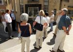 Visit from Pirmasens RC & Kiev Centre RC - May 2012 - Outside the old Cavendish Laboratory