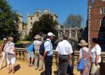 Visit from Pirmasens RC & Kiev Centre RC - May 2012 - The group finding out how Queen Victoria named the Bridge of Sighs