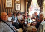 Visit from Pirmasens RC & Kiev Centre RC - May 2012 - A bite for lunch in The Mitre