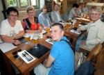 Visit from Pirmasens RC & Kiev Centre RC - May 2012 - Dinner at The George in Spladwick