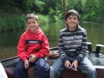 Children from Chernobyl Seagull Trust Trip -
