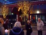 Evening walk in Manchester -