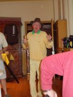 Oz night - Not to be outdone, Craig tackles the Didjeridu