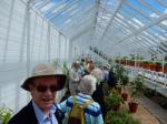 Annual Garden Visit 2016 to West Dean Gardens, West Sussex - Inside one of the greenhouses